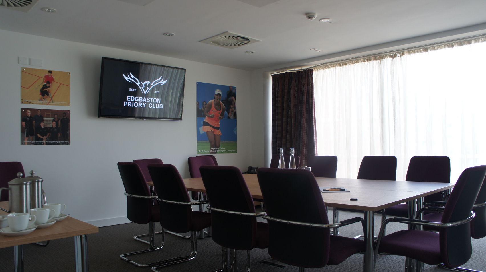 Meeting Room, Edgbaston Priory Club
