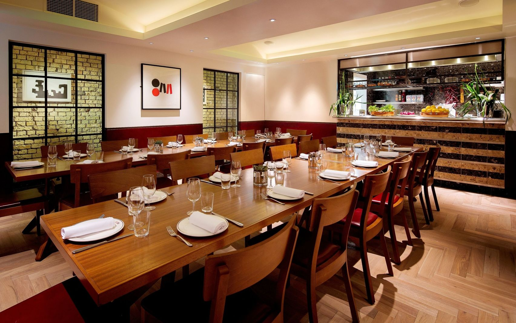 Book private dining room barrafina on drury lane london for Best private dining rooms covent garden