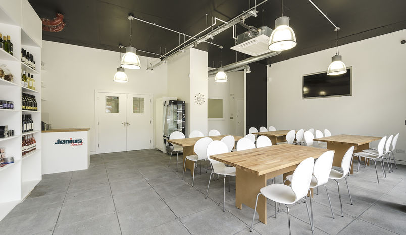 Events Space and Kitchen Hire, Jenius Social