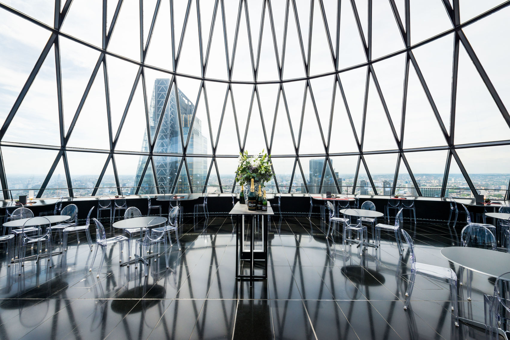 Exclusive Hire of the Restaurant & Bar, at The Gherkin