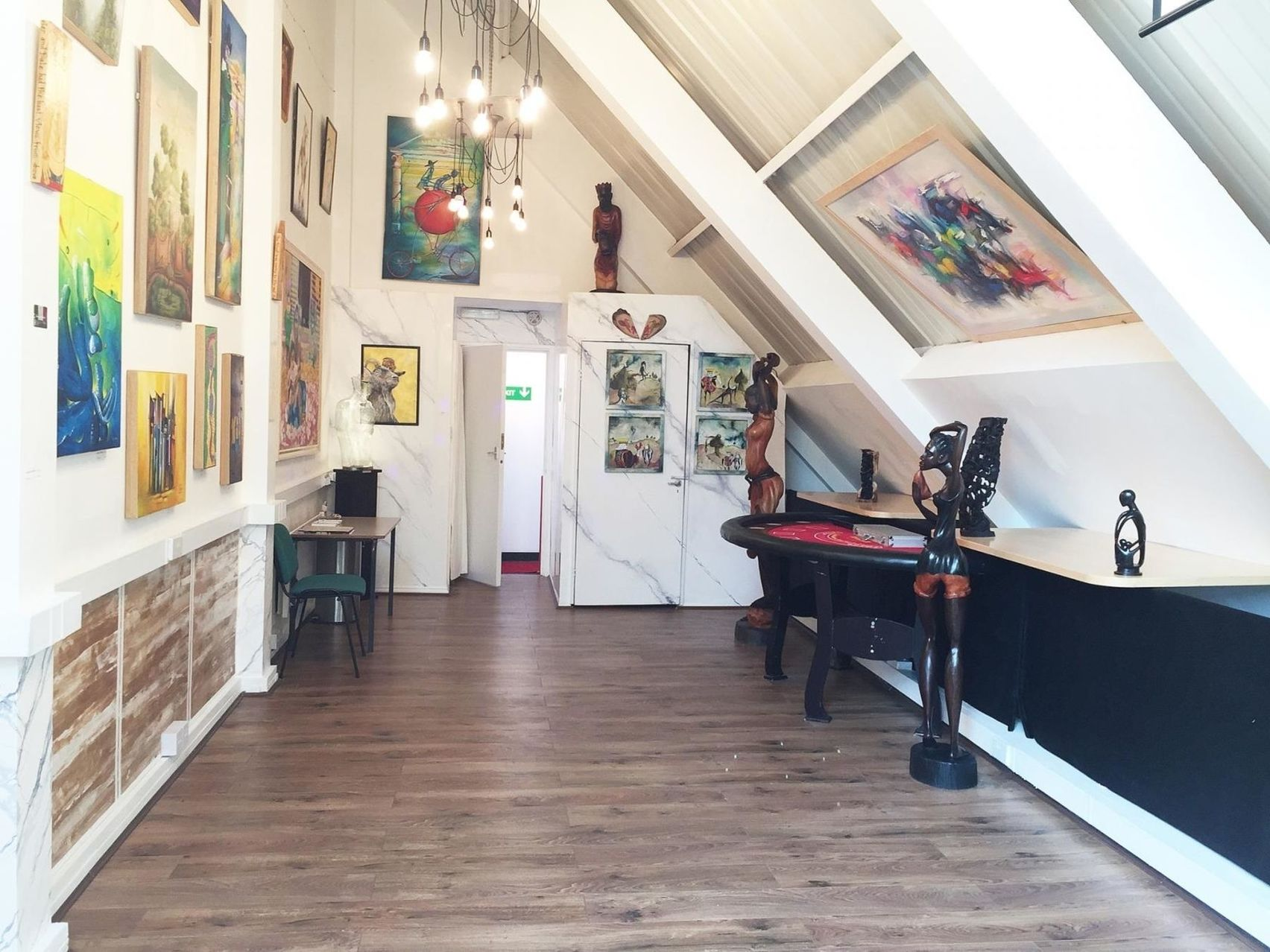 Gabriel Fine Arts Gallery Spaces, Gabriel Fine Arts