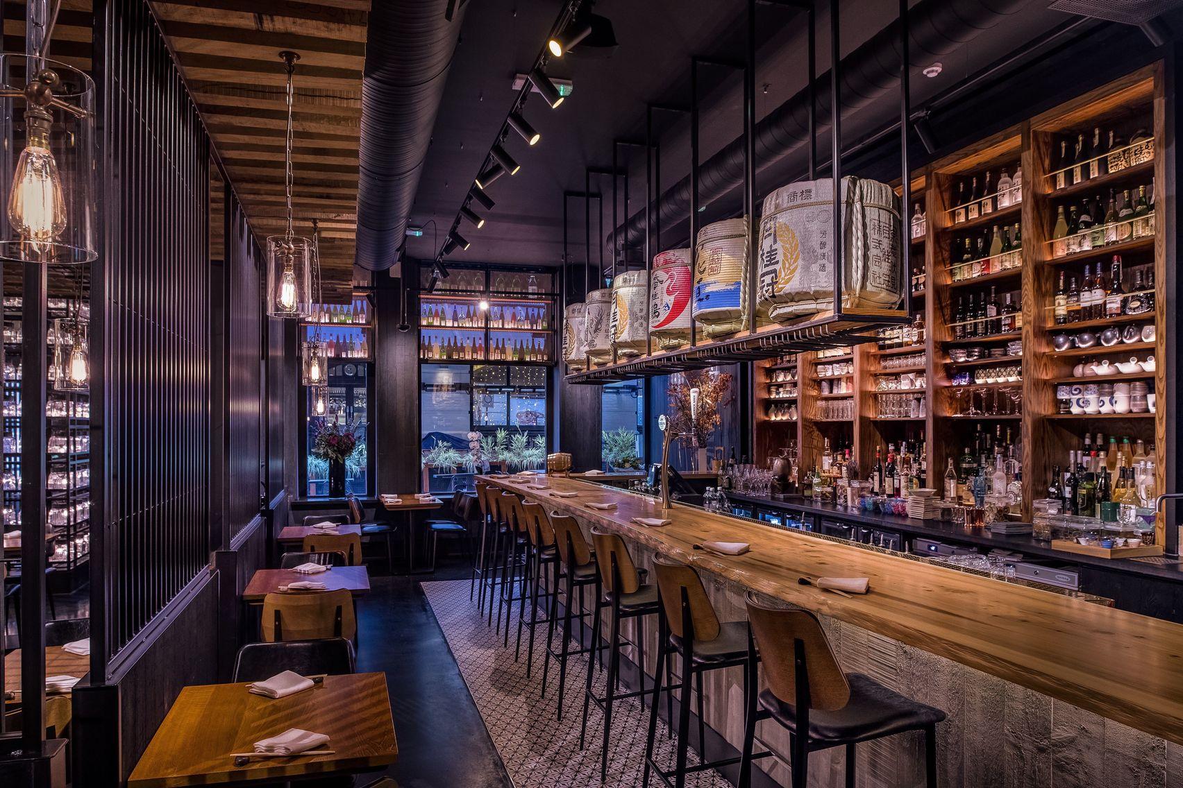 Sakagura , Restaurant and Sake Cellar