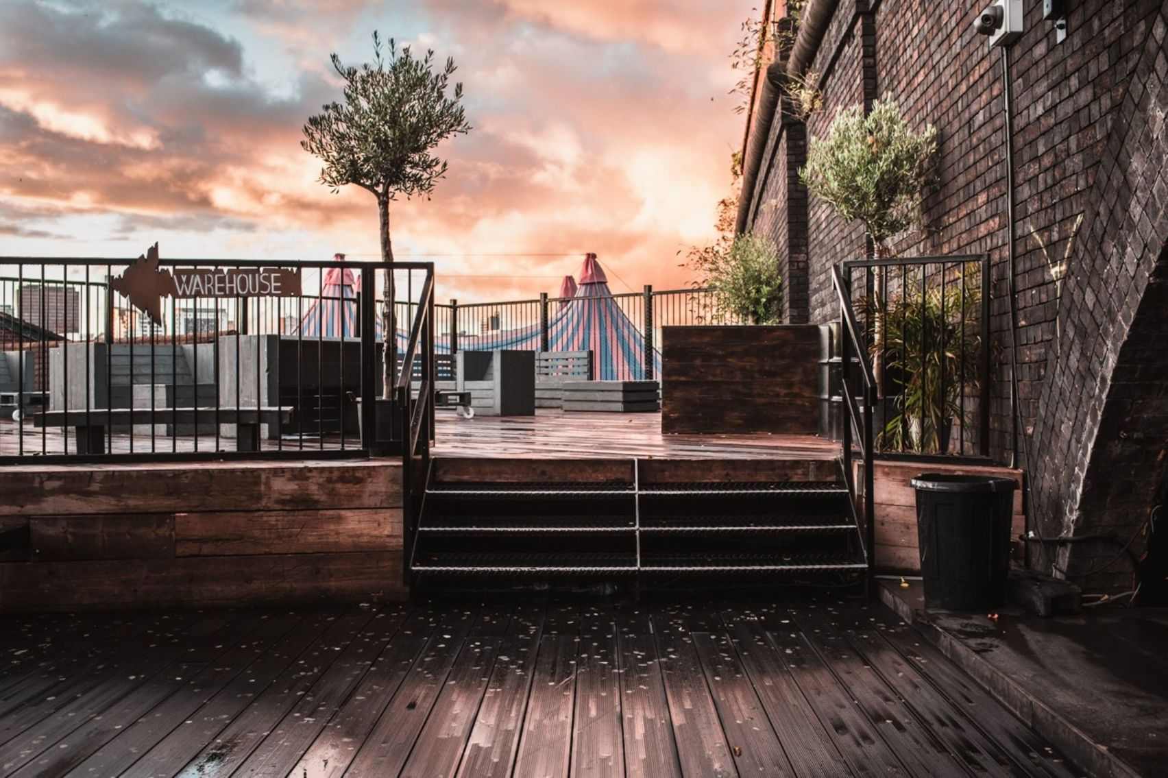 The Roof Terrace , The Rainbow Venues