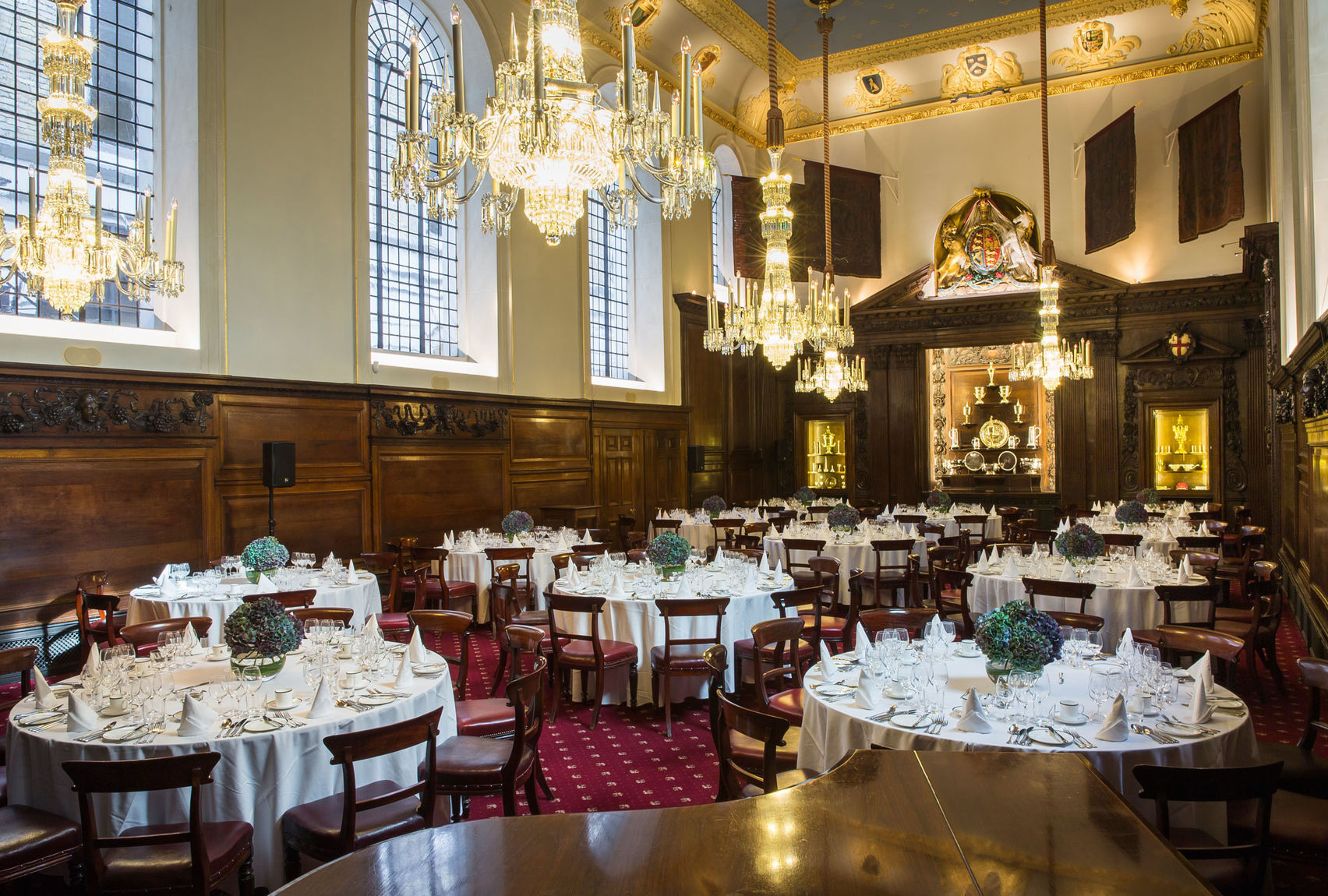Livery Hall & Drawing Room, Vintners' Hall