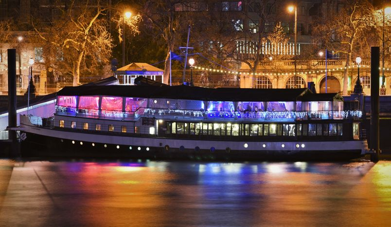 Top Deck, Bar and Terrace, The Yacht London