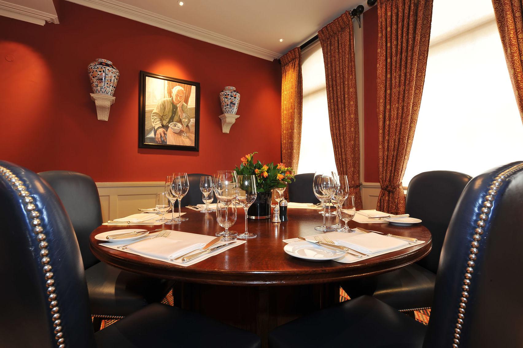 Lunch Sitting, Crustacea Room, Bentley's