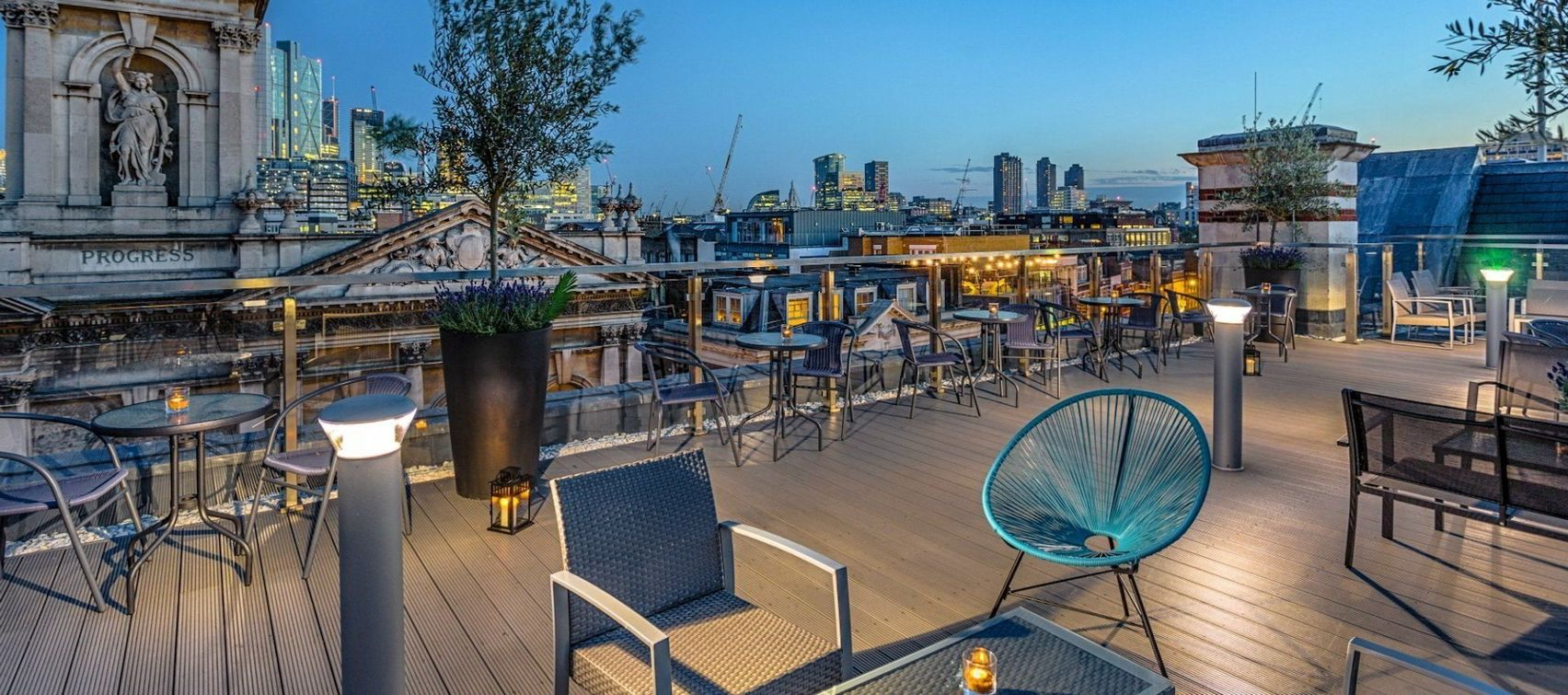 Shoreditch Sky Terrace, Courthouse Hotel Shoreditch