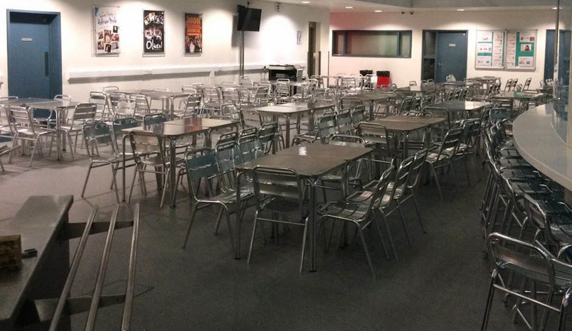 Dining/Atrium Area, SLS at The Harefield Academy