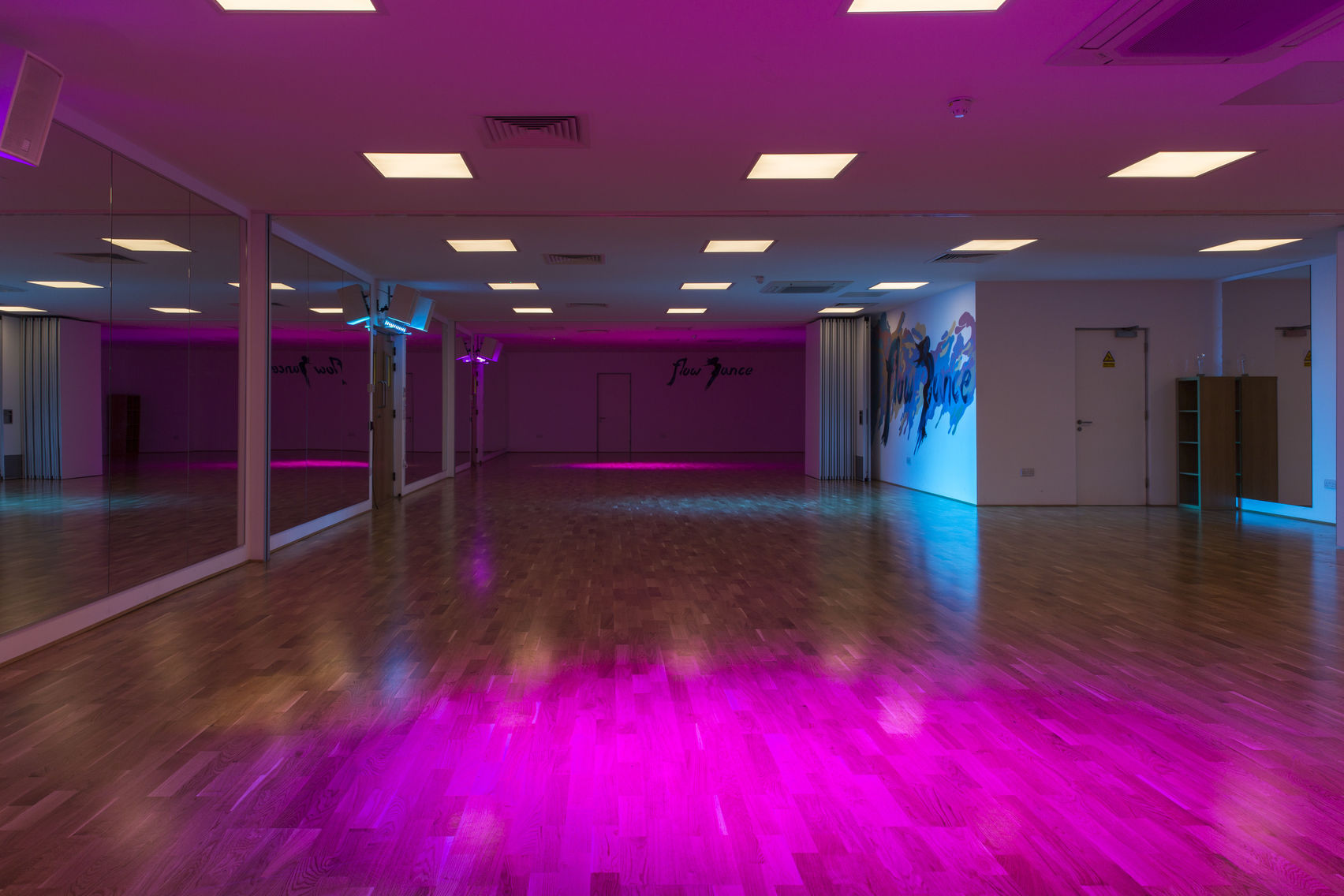 Event venue hire, Flow Dance