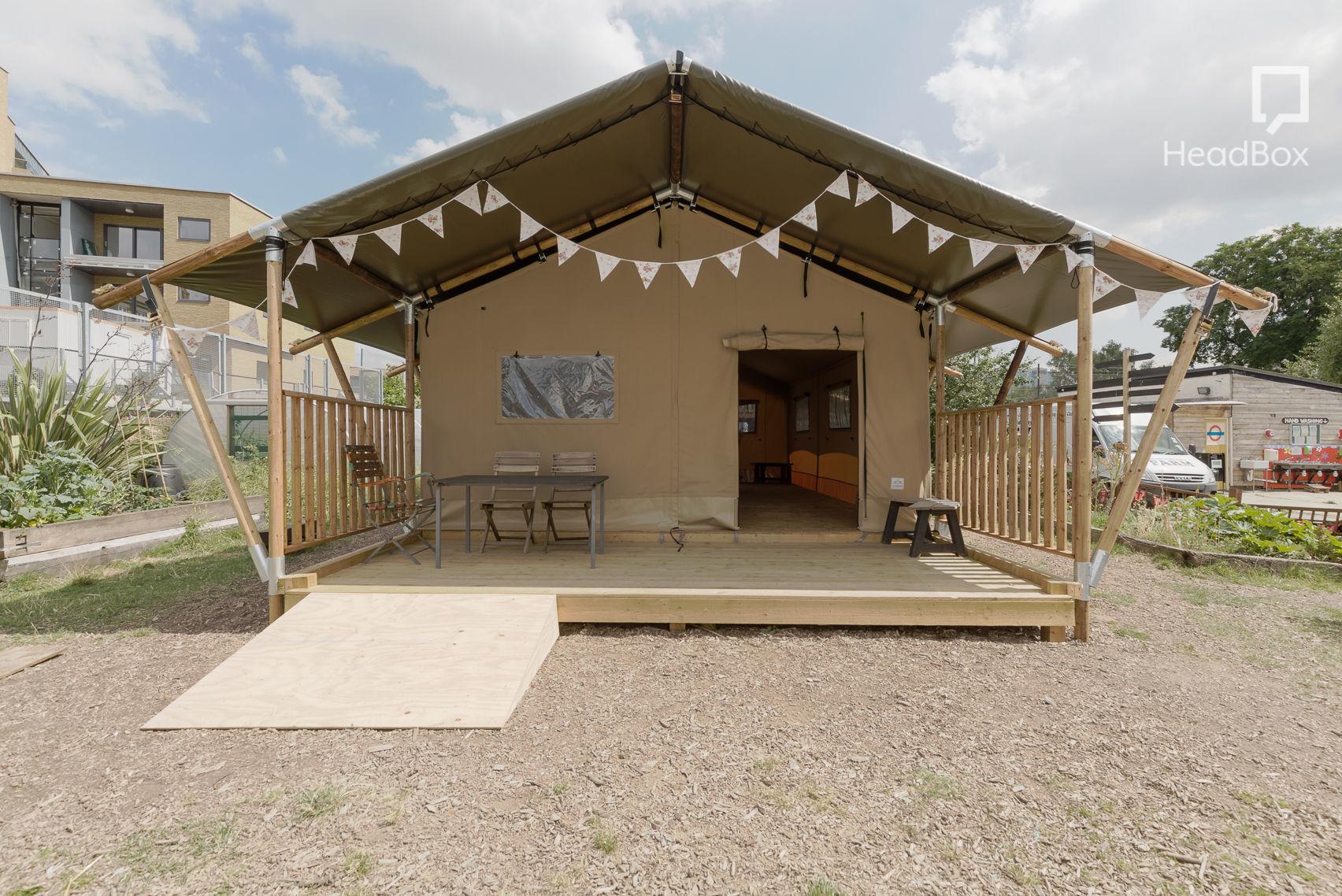 The Tent, Spitafields City Farm