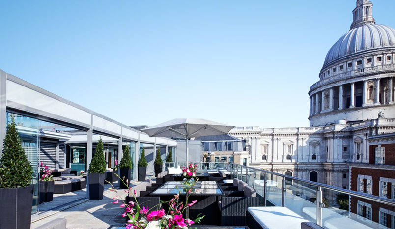 Skybar, 5*  Grange St Paul's Hotel