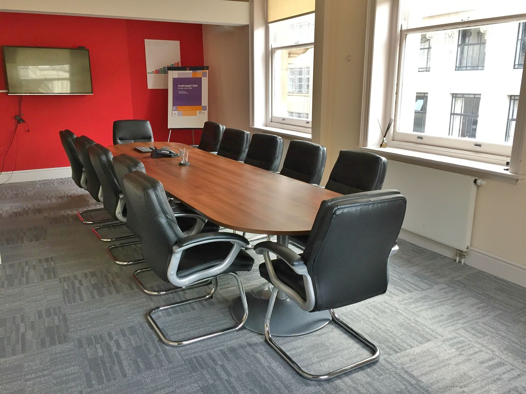 Board Room 1, Discovery