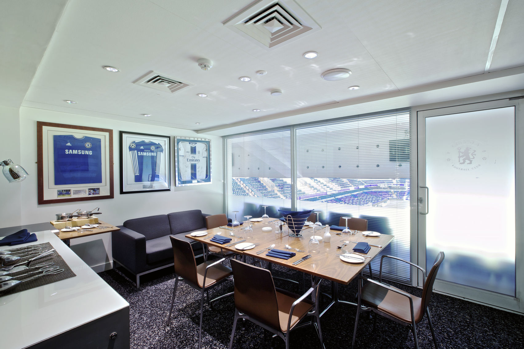 Executive Boxes, Chelsea Football Club