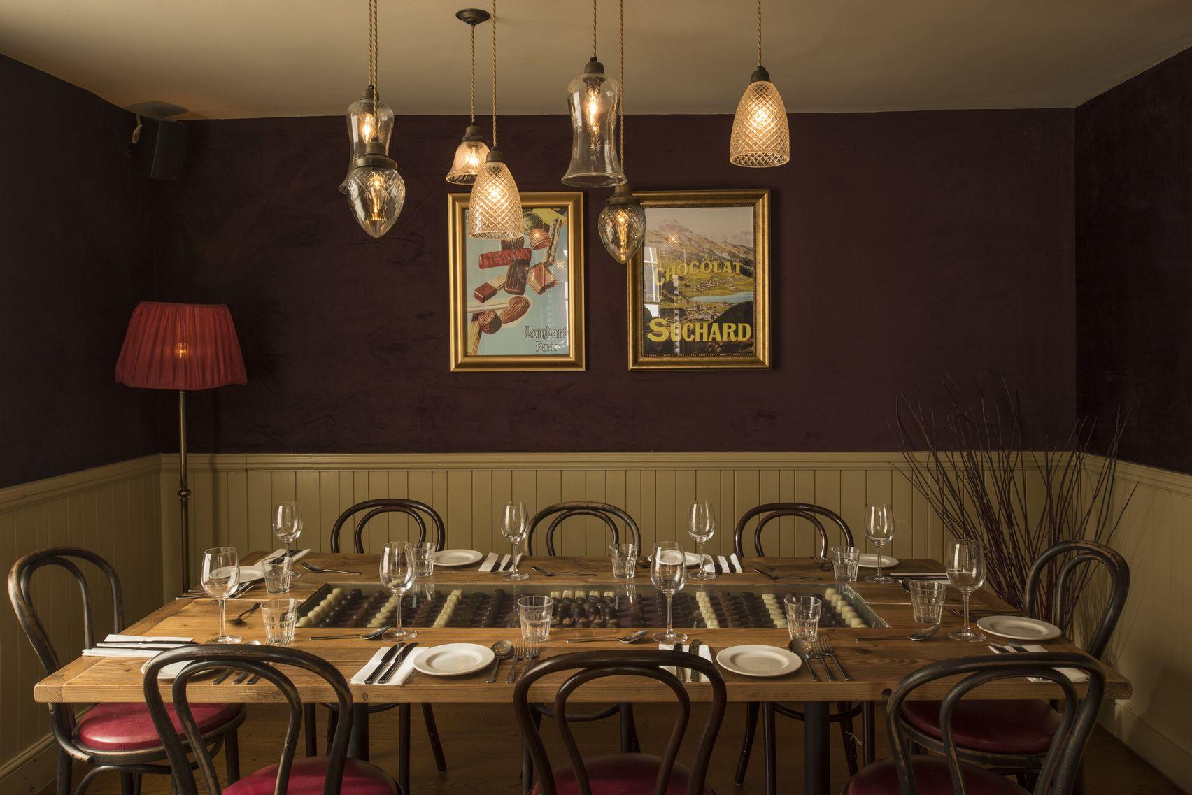 Chocolat Room, Cafe Rouge Leamington Spa