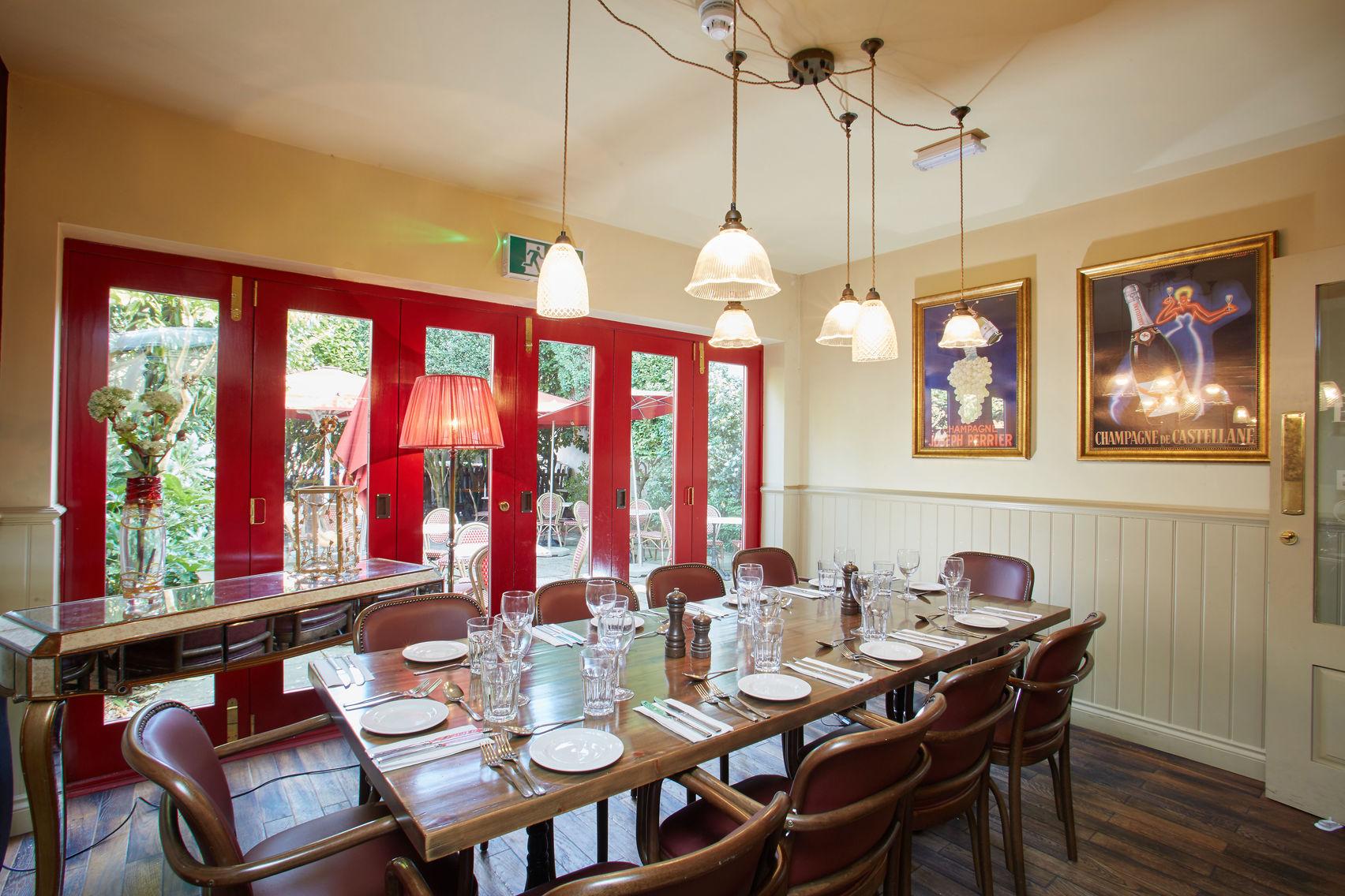 The Garden Room, Cafe Rouge Weybridge