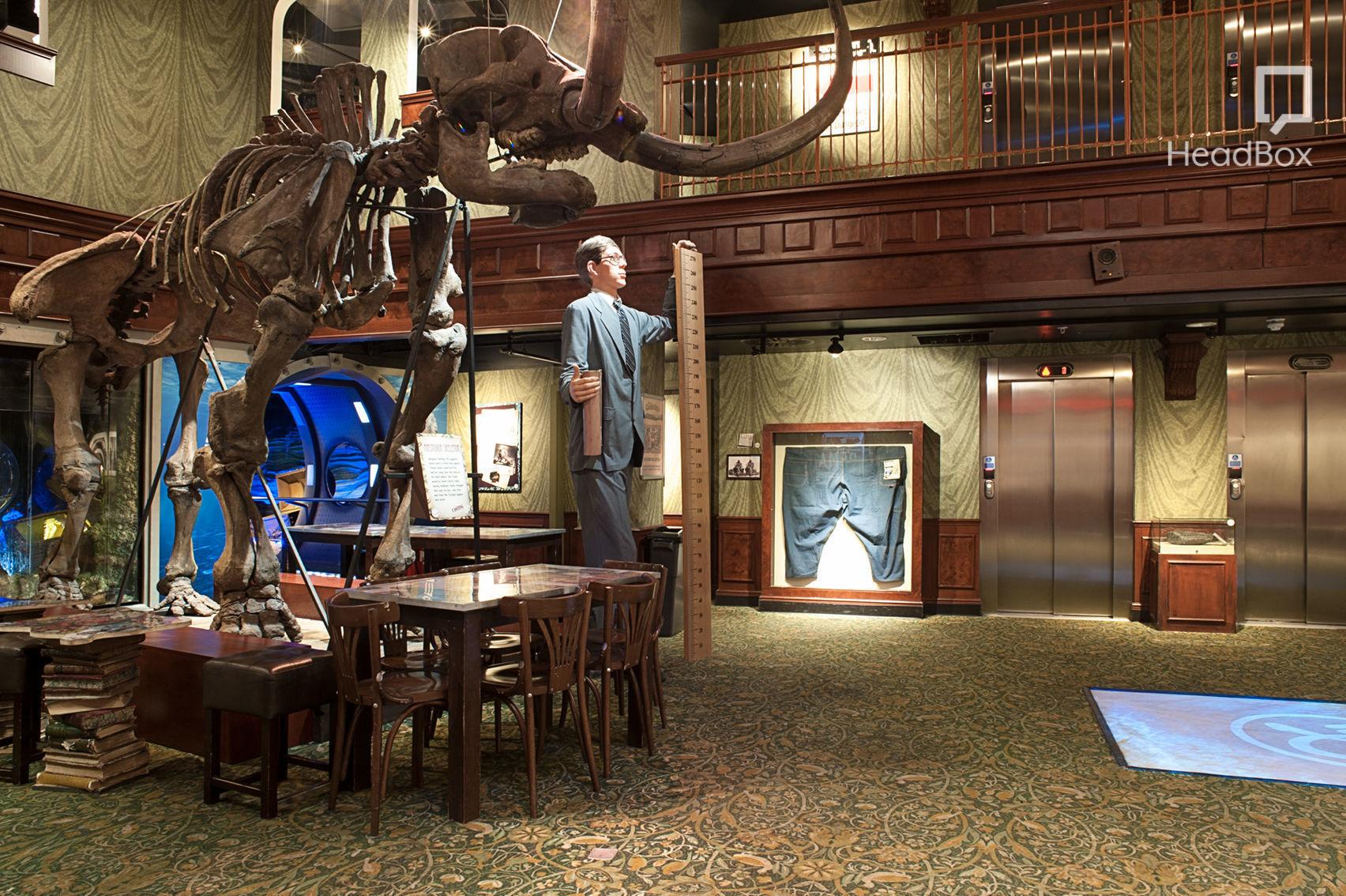 Ripley's Library  , Ripley's Believe It or Not! London
