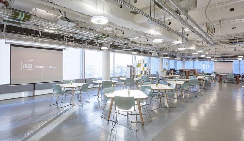 Studio Cafe , Impact Hub Westminster
