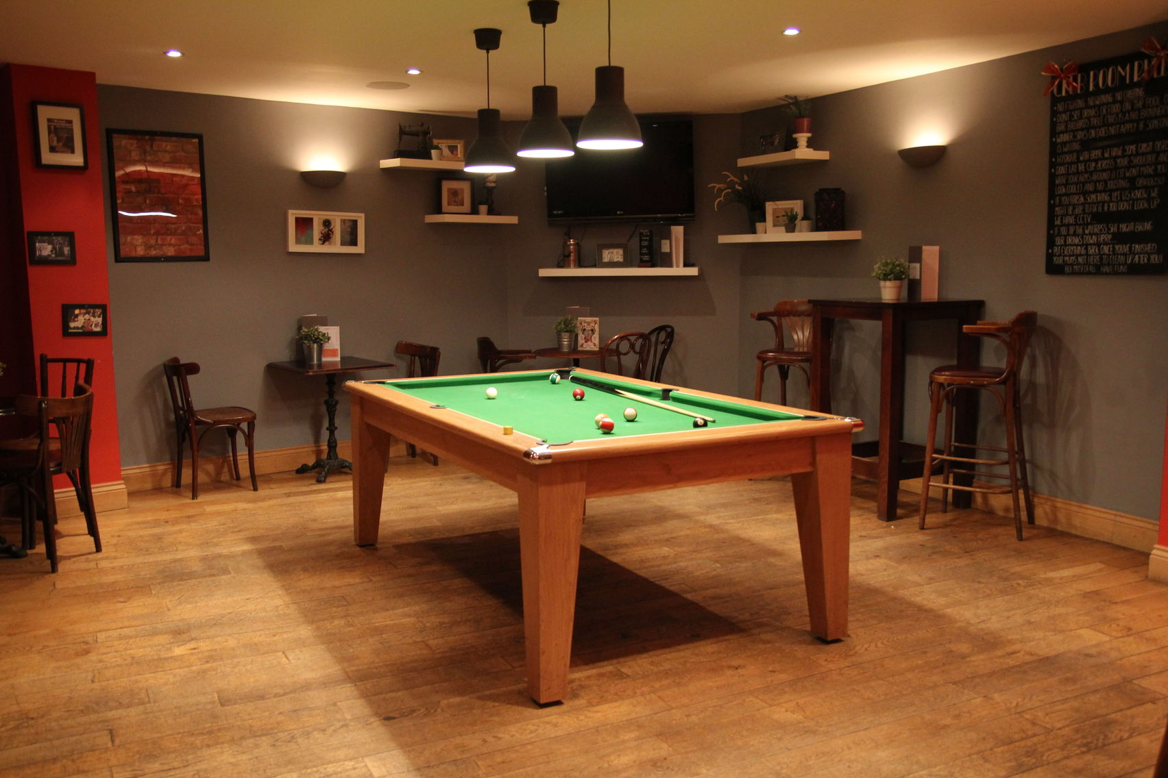 Ludgate Club Room, Jamies Wine Bar, Ludgate Hill.