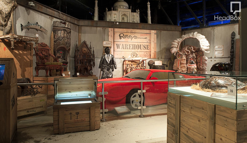 Warehouse, Ripley's London
