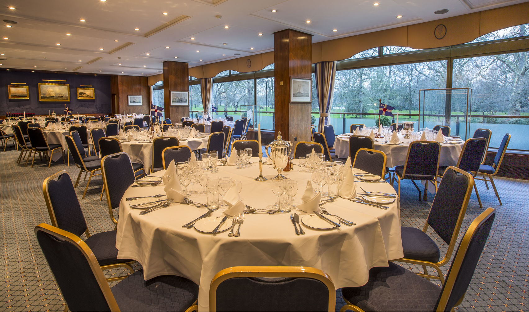 The Coffee Room and Mountbatten Suite, Royal Thames Yacht Club