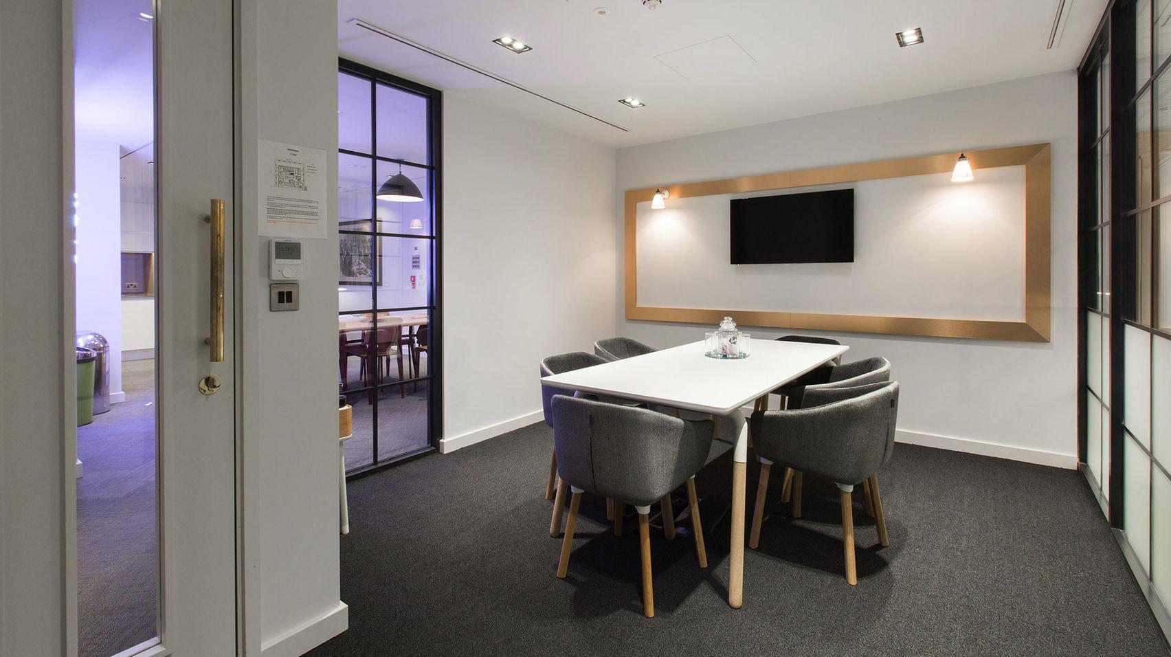 Meeting Room 2, TOG, Liverpool Street