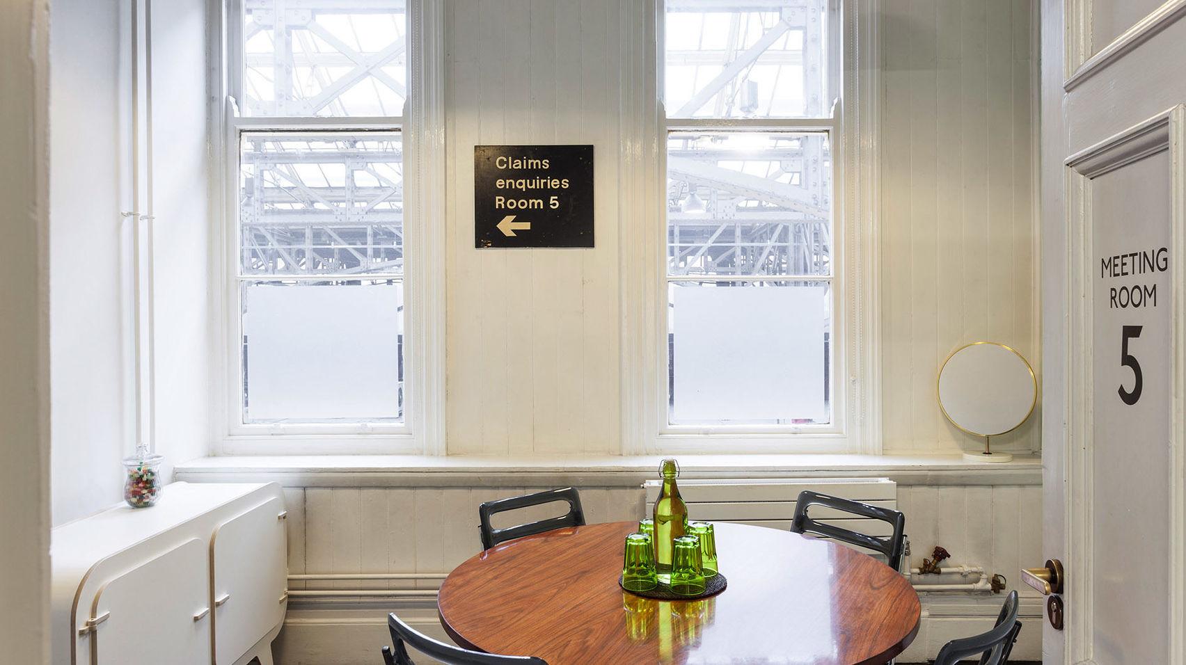 Meeting Room 5, TOG, Marylebone Station