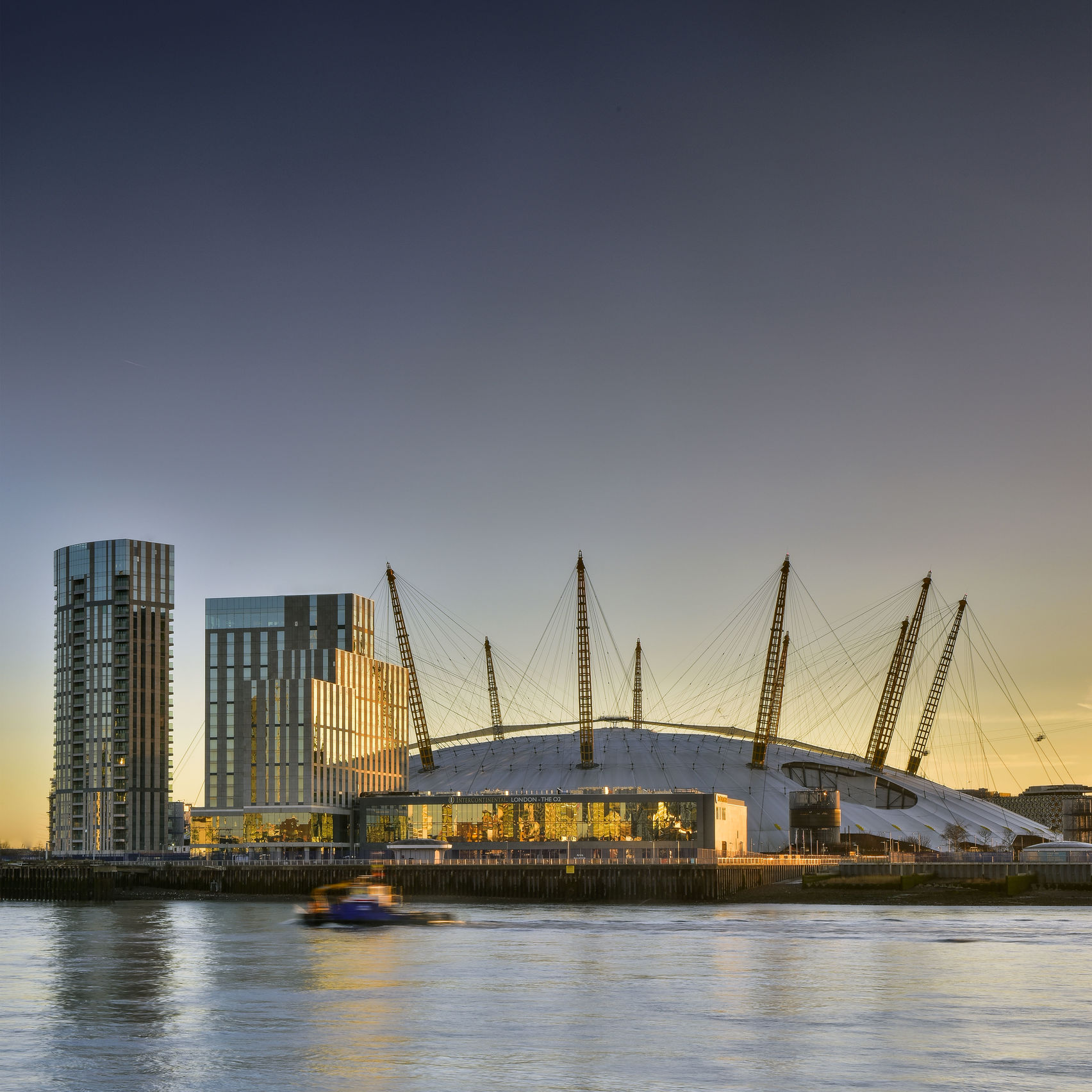 LUXURY HOTEL ON GREENWICH PENINSULA , InterContinental London - The O2