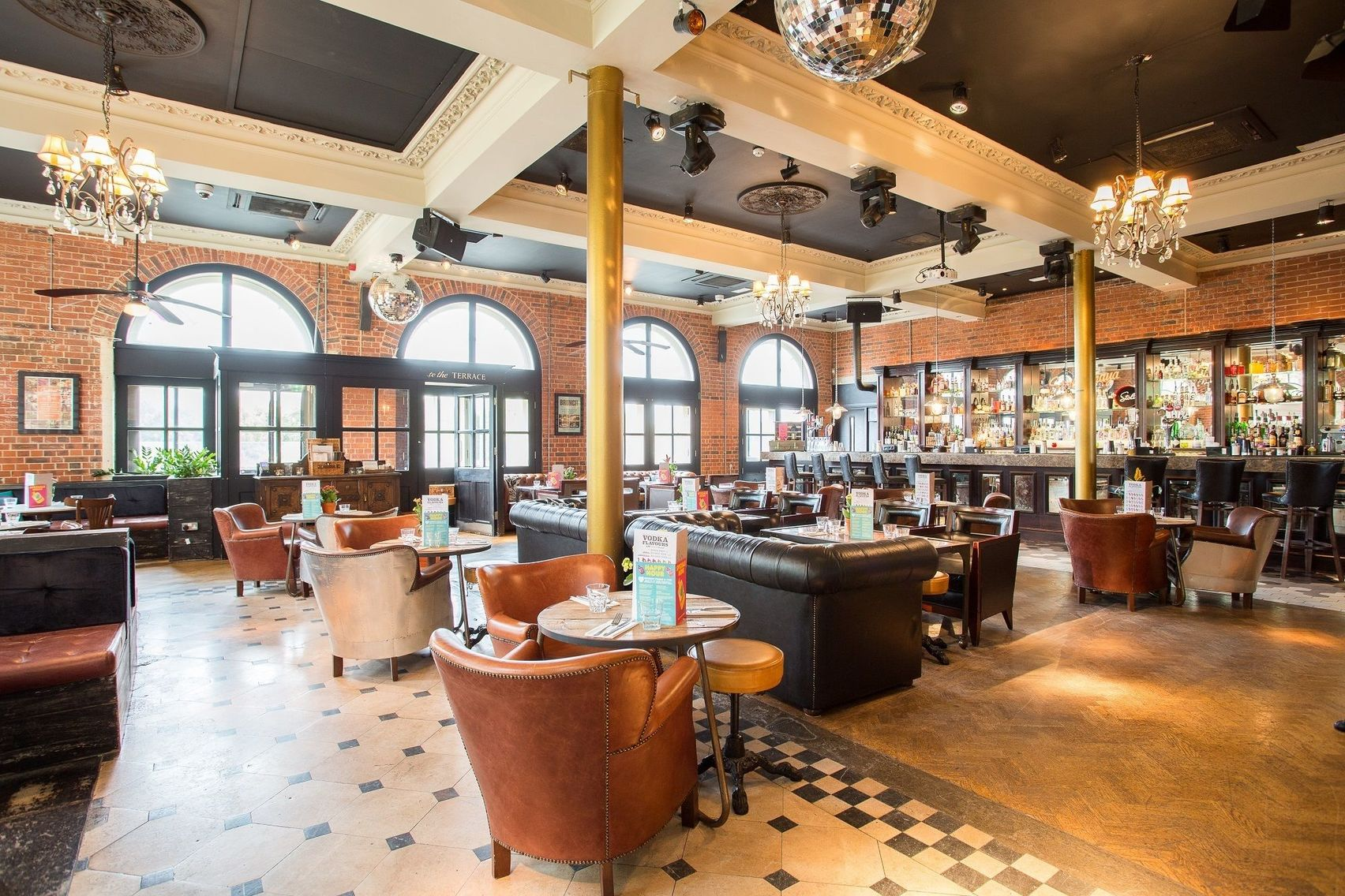 Book the terrace bar revolution richmond london headbox for The terrace book