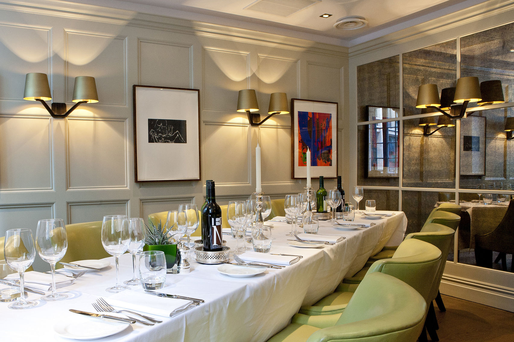 Grub Street, Chiswell Street Dining Rooms