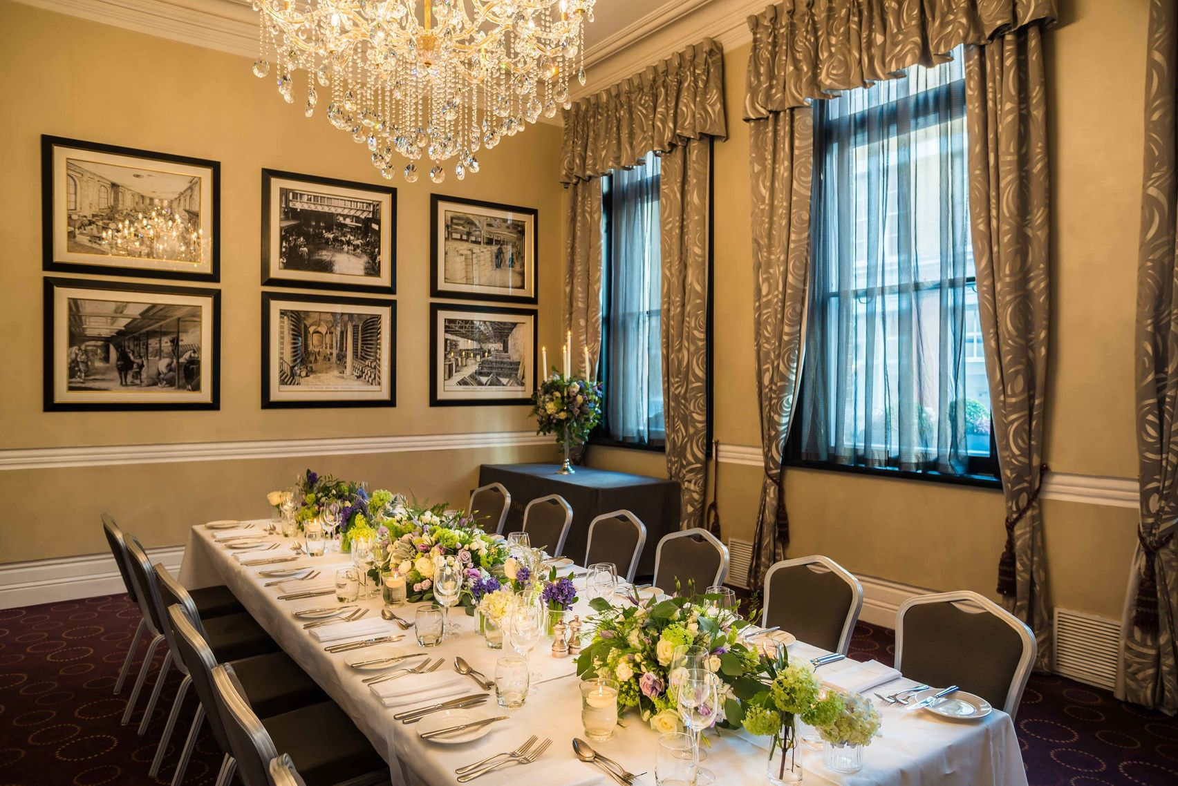 The Melville Room, Chiswell Street Dining Rooms
