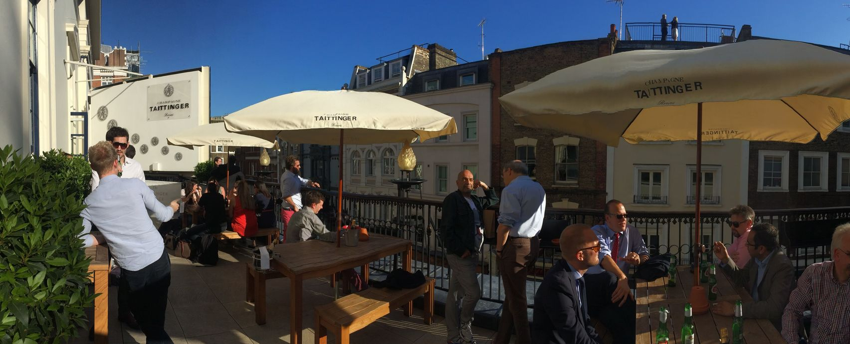 Taittinger Terrace, Theatre Royal Drury Lane