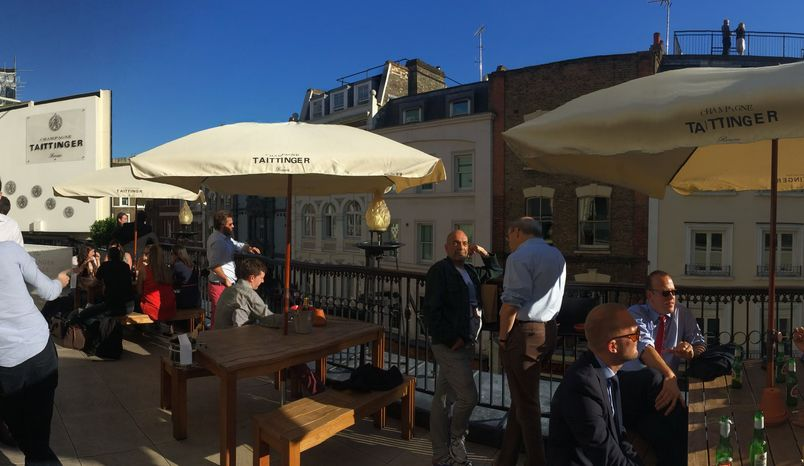 Taittinger Terrace, Theatre Royal Drury Lane