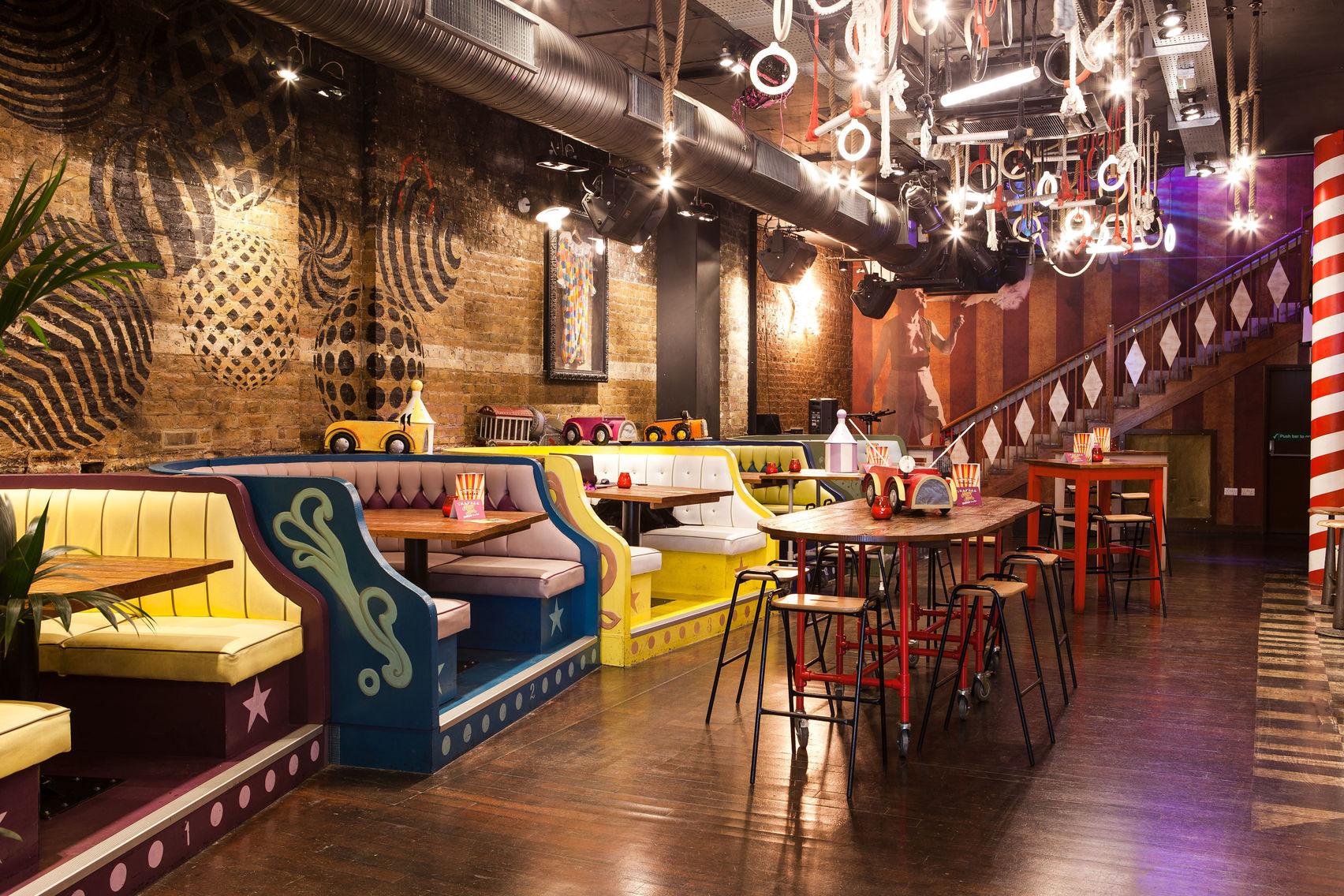Trapeze Bar - Main Bar & Mezzanine, Trapeze Bar