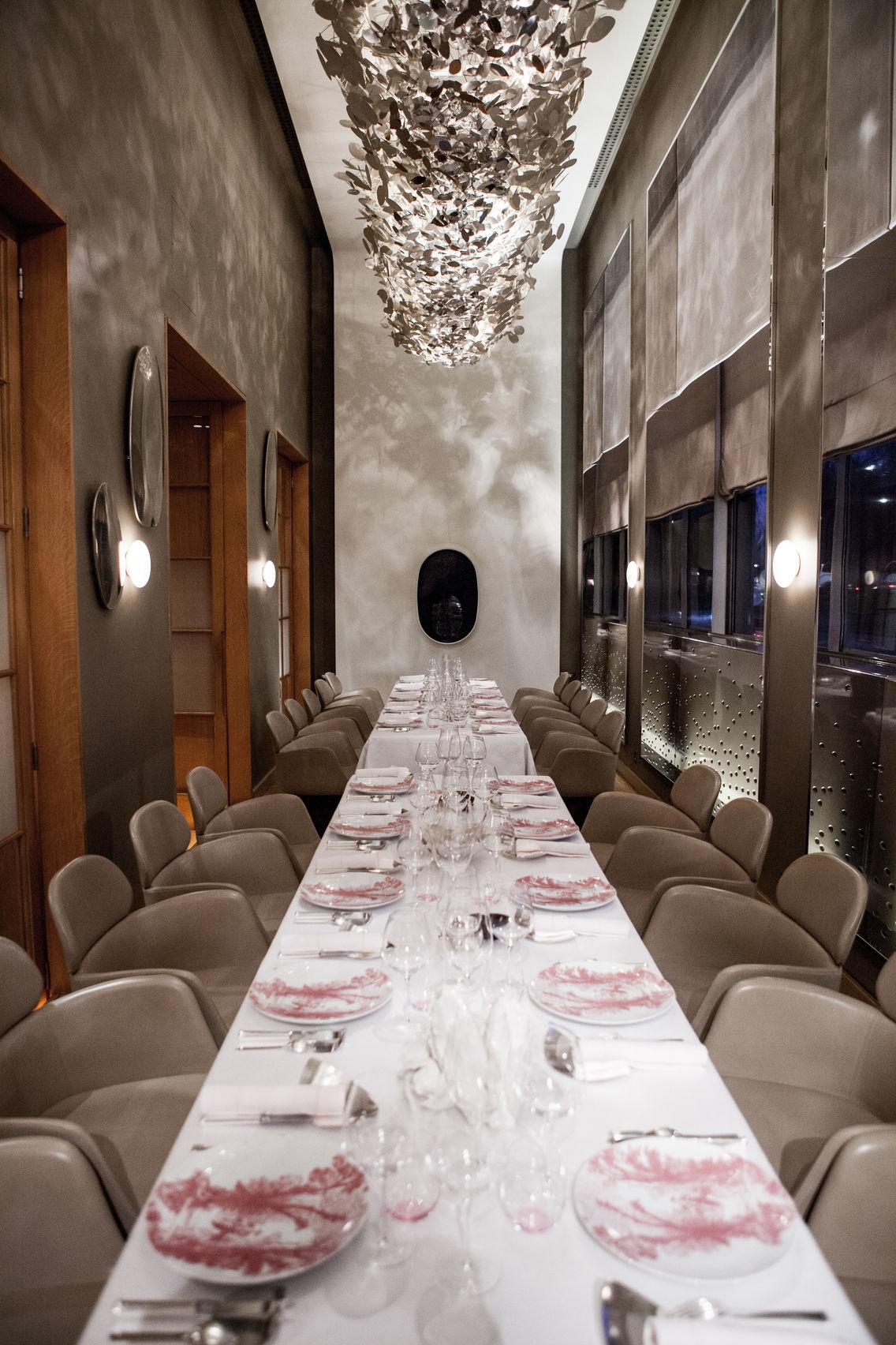 Salon Park Lane (dinner), Alain Ducasse at The Dorchester