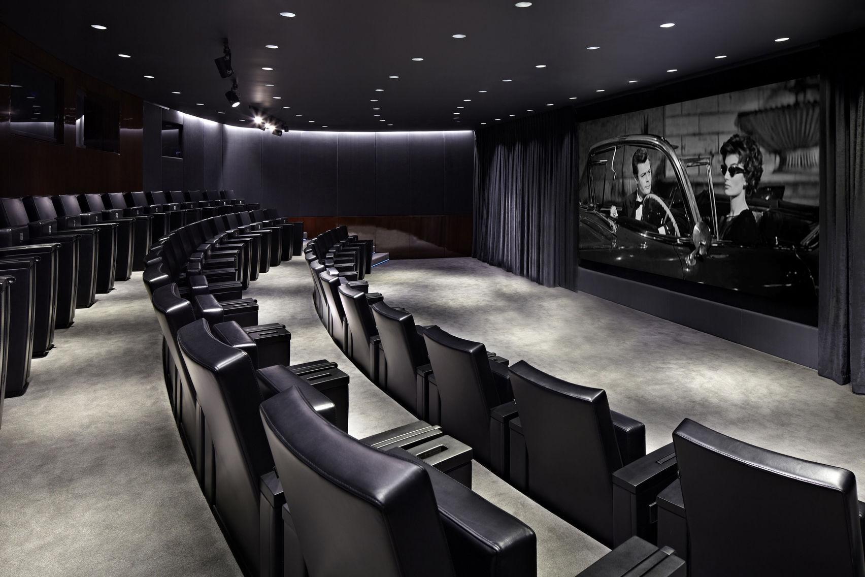 Cinema & Cinema Foyer, Bulgari Hotel, London