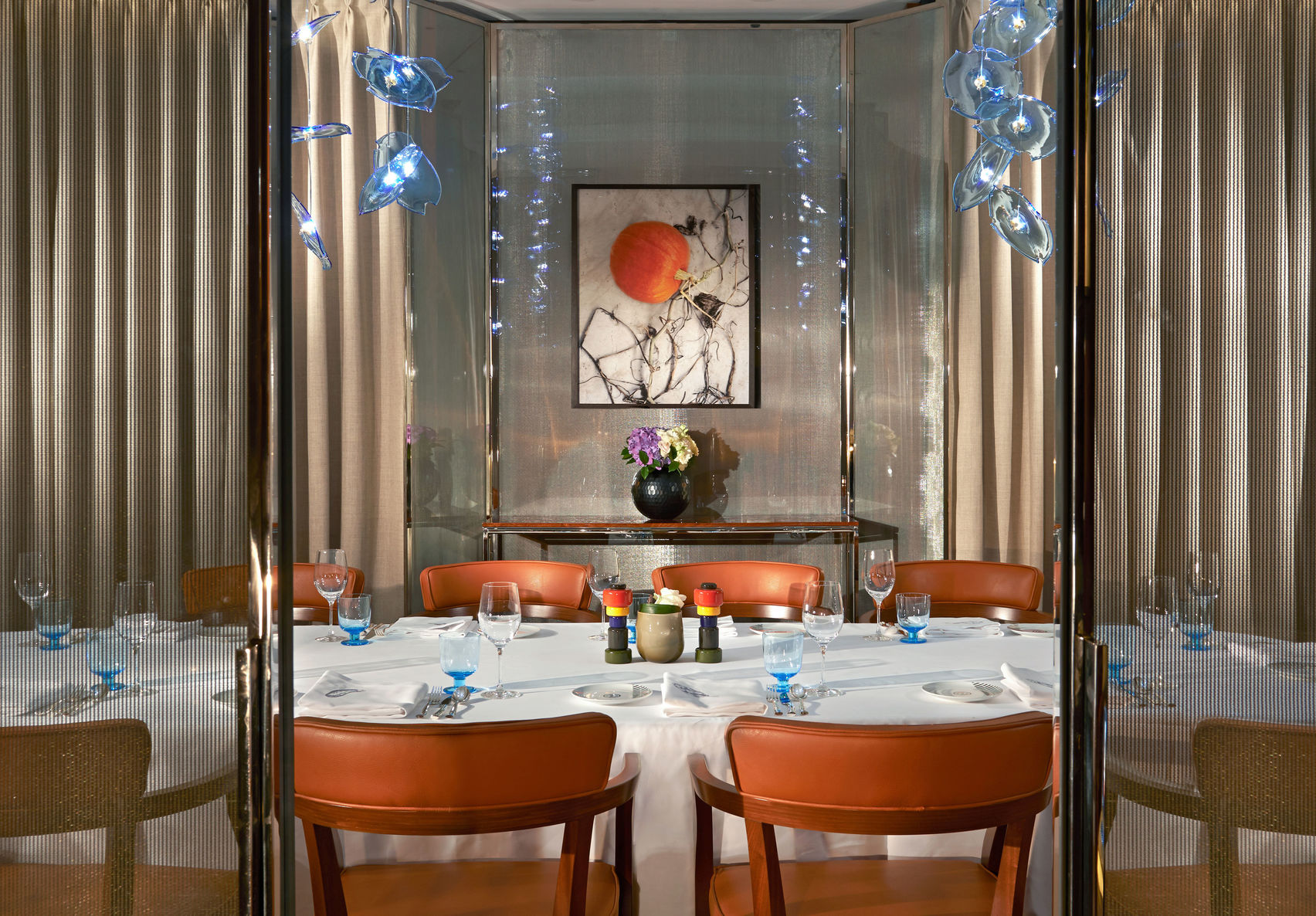 Private Dining Room , Bulgari Hotel, London
