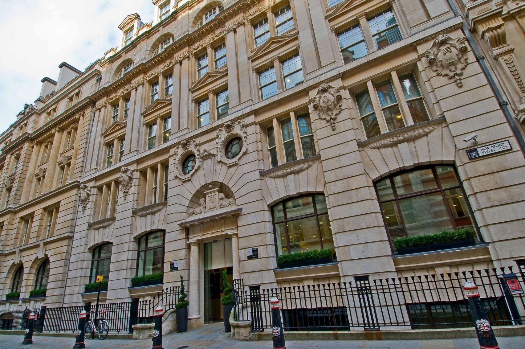 Battersea Suite , Regus, New Broad Street