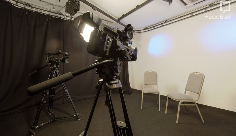 Studio dry hire with green room, Upbeat Studios