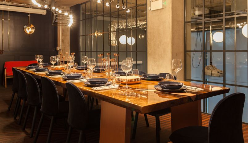 The Private Dining Room @ Old Oak, The Collective Venues