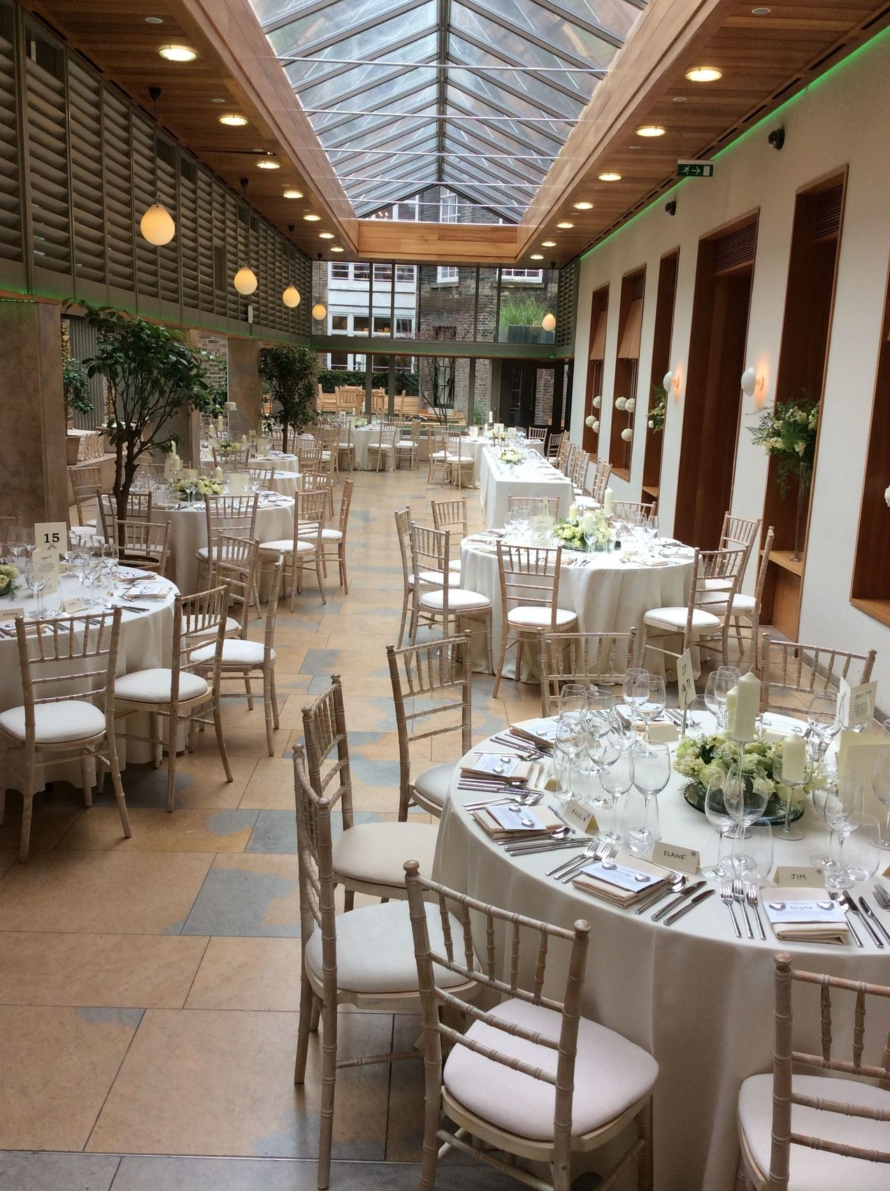 The Orangery & Courtyard Garden, No.11 Cavendish Square