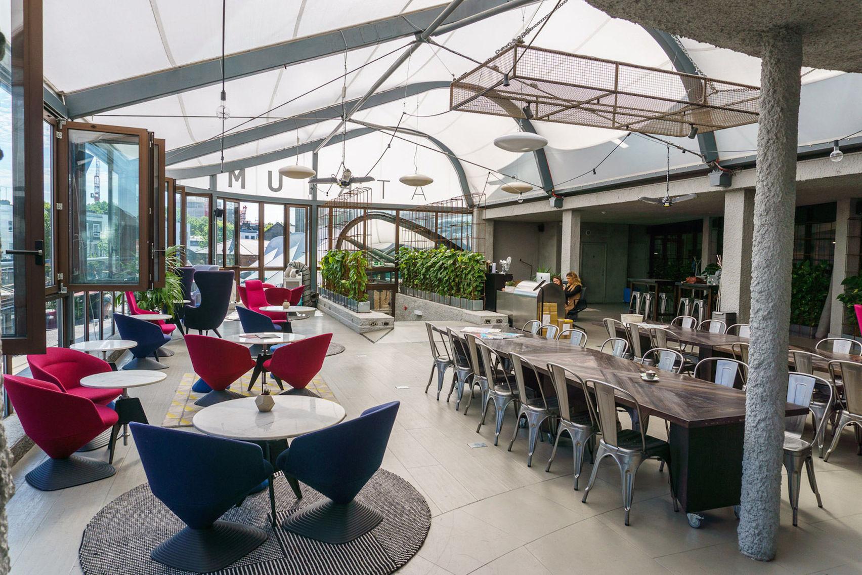 Private event space , Interchange Atrium Kitchen