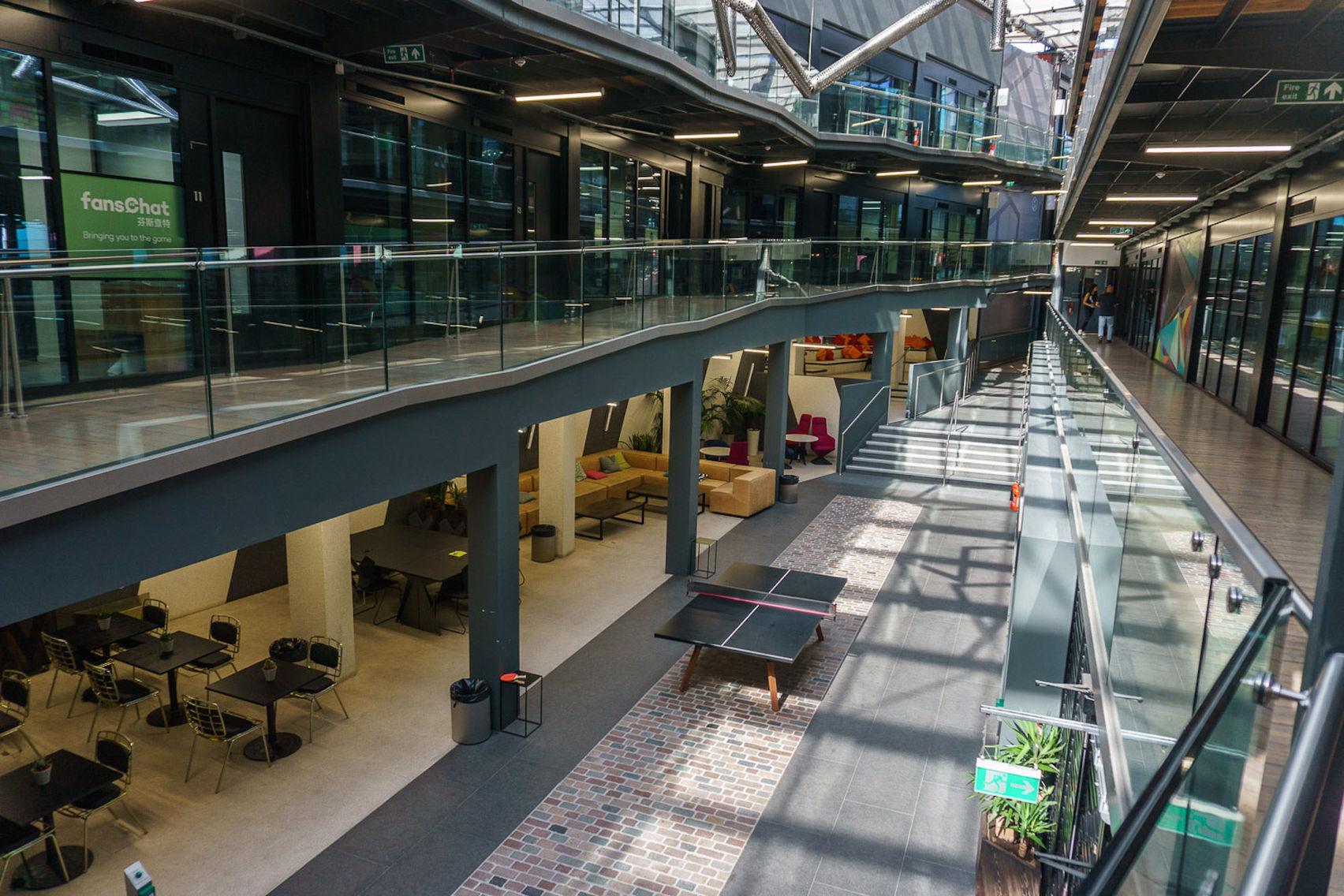 Private event space, Interchange Atrium Arches