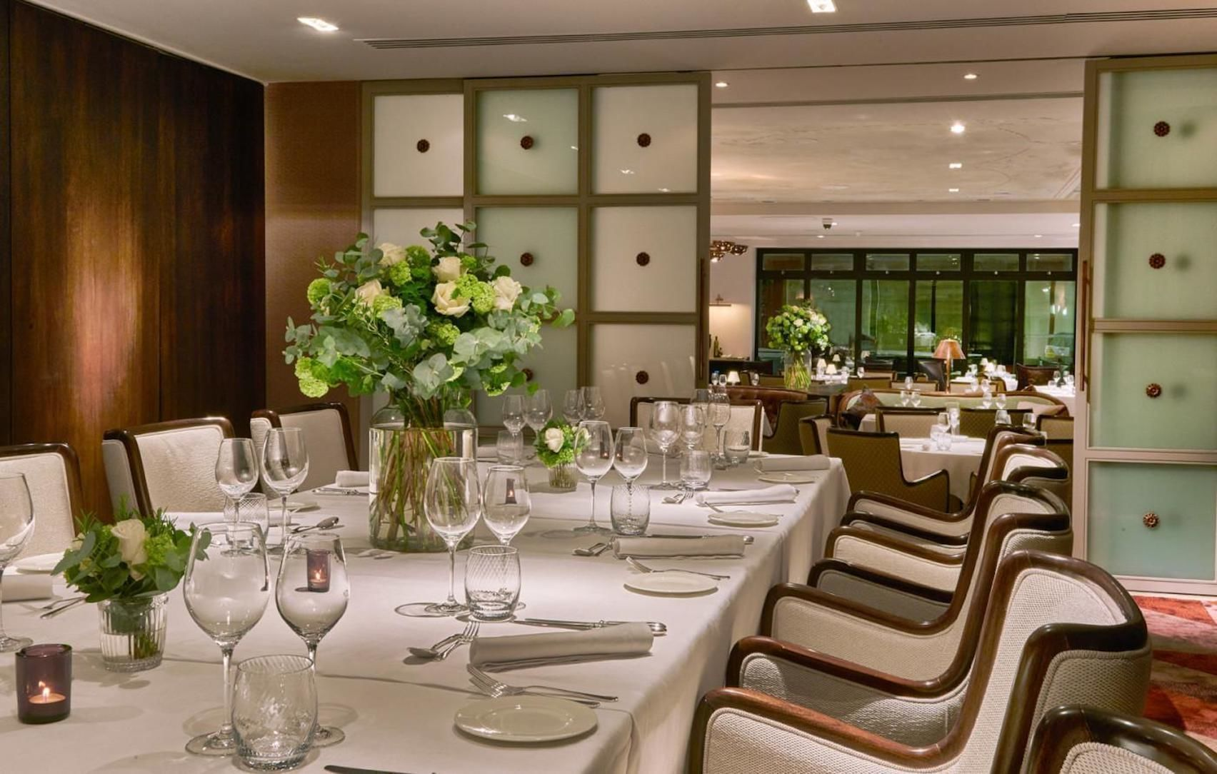 Private Dining Room, Sartoria