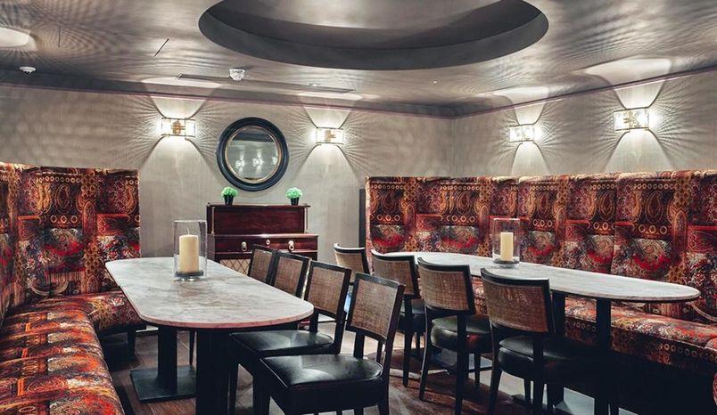 Restaurant & Club 100 Room , 100 Wardour Street