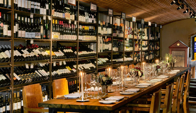 Wine Cellar, Le Pont De La Tour