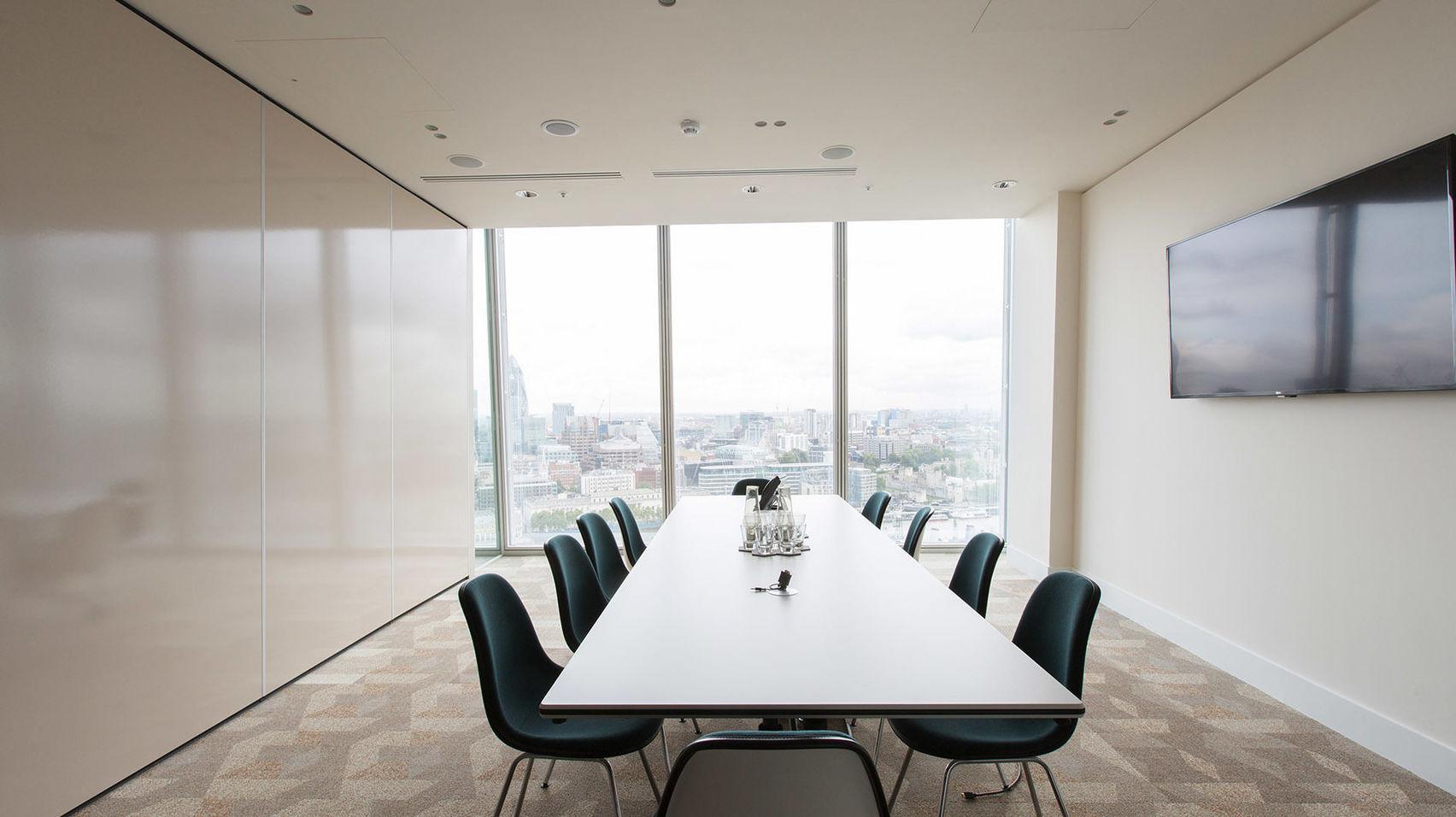 Meeting Room 4, TOG - 24/25 The Shard
