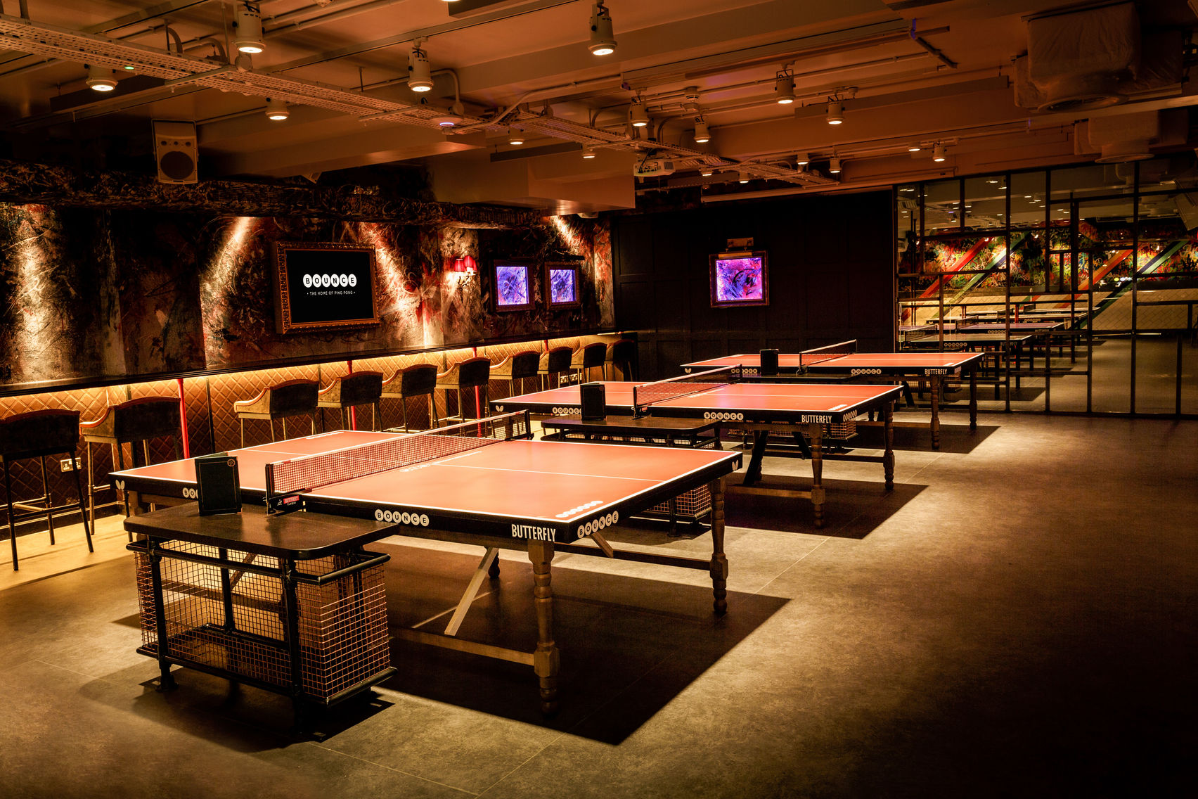 BOUNCE, THE HOME OF PING PONG HOLBORN