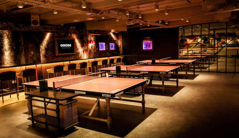 Private Rooms, Bounce, Old Street - The Home of Ping Pong