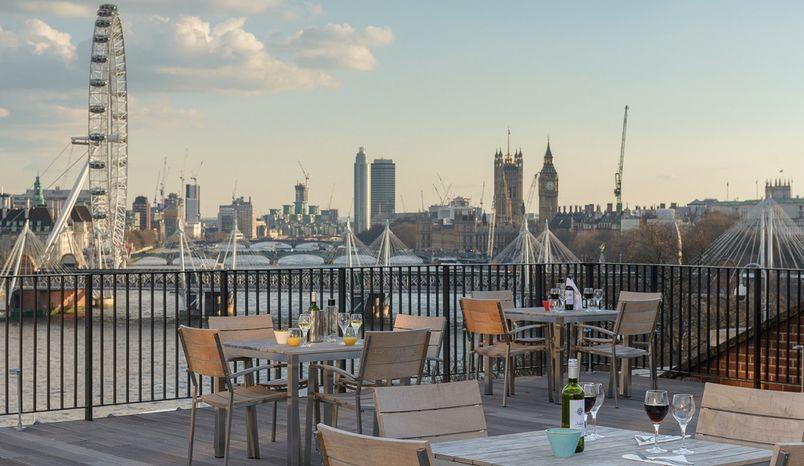Johnson Roof Terrace, IET London: Savoy Place