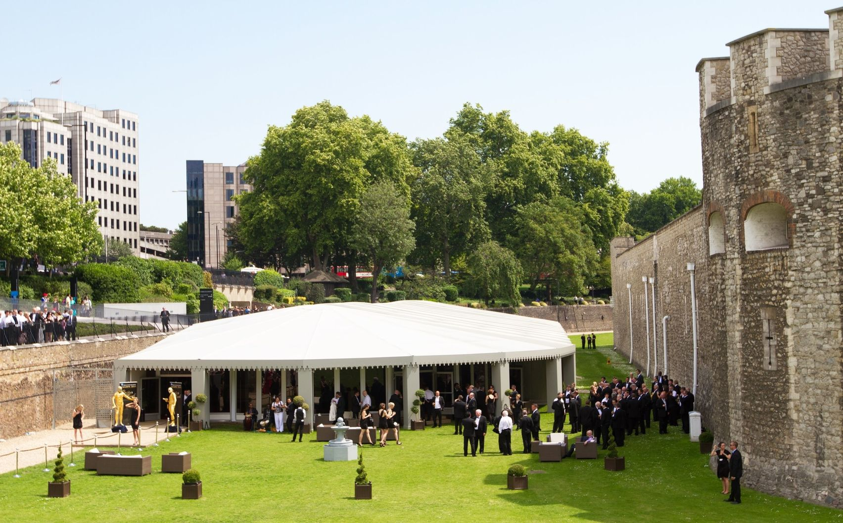 Summer at The Pavilion, Tower of London